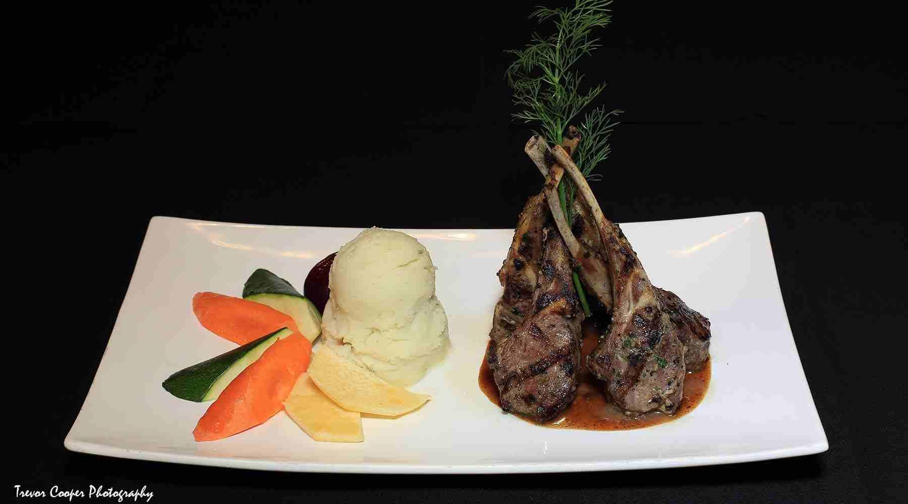 Penticton lamb chops